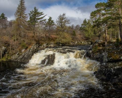 Cassley Waterfalls