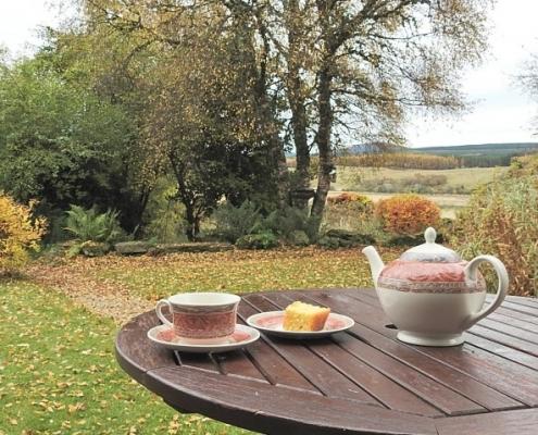 Invercassley Cottage Annex Suite Garden View