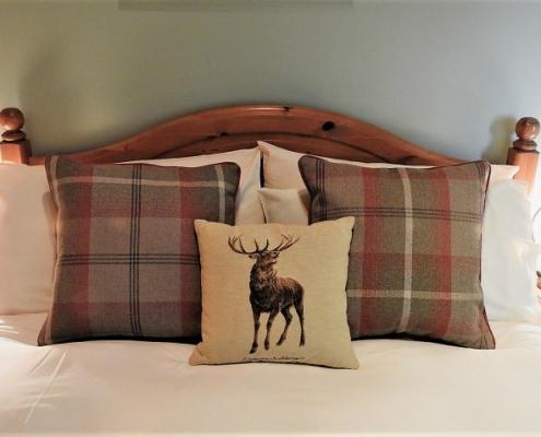 Willie Gunn Room at Invercassley Cottage