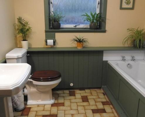 Bathroom in in Invercassley