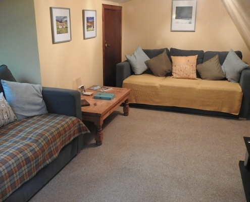 Lounge Area in Invercassley