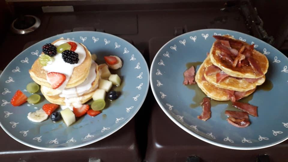 Breakfast at Invercassley